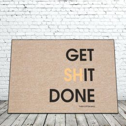 Get Shit Done Doormat - 18 x 30 Funny