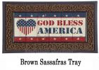 Sassafras God Bless America Switch Mat - 10 x 22 Insert