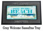 Sassafras Gone to the Beach Mat - 10 x 22 Insert Doormat