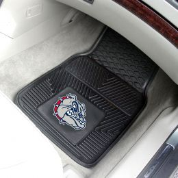 Zags Bulldogs 2pc Vinyl Car Floor Mats - 18 x 27