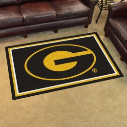 Grambling State University Brown Area Rug - 4 x 6 Nylon