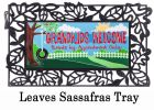 Sassafras Grandkids Welcome Switch Mat - 10 x 22 Doormat