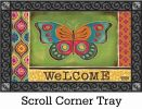 Indoor & Outdoor Gypsy Garden MatMates Doormat - 18x30