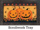 Indoor & Outdoor Halloween Glow MatMate Doormat-18x30