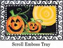 Indoor & Outdoor Halloween is Here MatMate Doormat - 18x30
