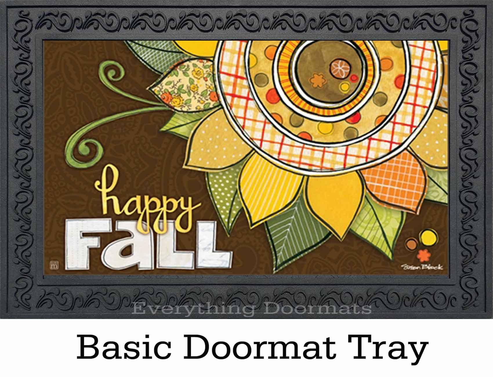 Indoor Amp Outdoor Happy Fall Matmates Doormat 18 X 30