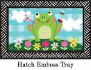 Indoor & Outdoor Happy Frog MatMate Doormat-18x30
