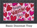 Indoor & Outdoor Happy Hearts Insert Doormat-18x30