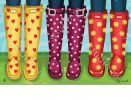 Indoor & Outdoor Happy Spring Boots MatMates Doormat