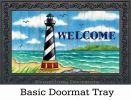 Indoor & Outdoor Hatteras Welcome Insert Doormat-18x30