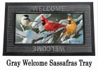 Sassafras Heavy Snowfall Switch Doormat - 10 x 22