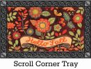 Indoor & Outdoor Hello Fall MatMate Doormat-18x30