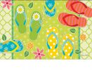 Indoor & Outdoor Hello Summer MatMate Doormat-18x30