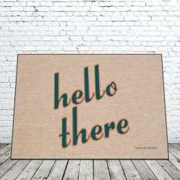 Hello There Doormat - 18 x 30 Funny