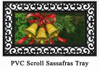 Sassafras Holiday Bells Switch Insert Doormat - 10 x 22