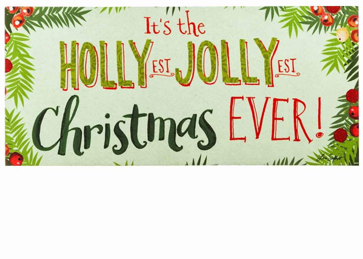 Christmas Coir Doormat