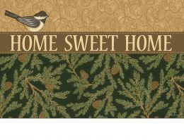 Indoor & Outdoor Home Sweet Home Insert Doormat - 18x30