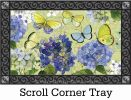 Indoor & Outdoor Hydrangea Beauties MatMate Doormat-18x30