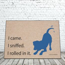 I came I sniffed Doormat - Funny 18 x 30