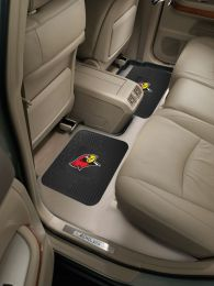"Illinois State University Utility Mat Set - Vinyl 14"" x 17"""