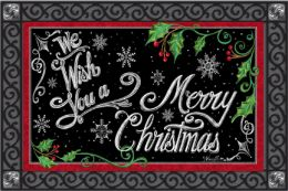 Indoor & Outdoor Insert Doormat - Christmas Wishes