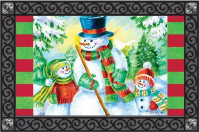 Indoor & Outdoor Insert Doormat - Snow Children
