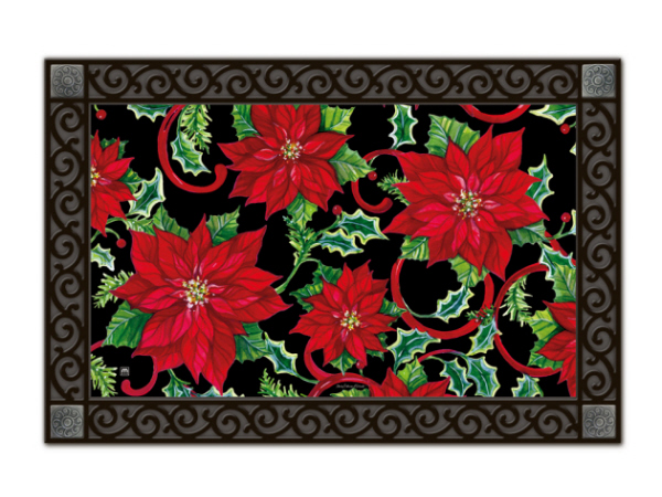Indoor Amp Outdoor Matmates Doormat Christmas Tradition