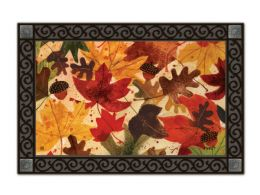 Indoor & Outdoor MatMates Doormat - Fallen Leaves