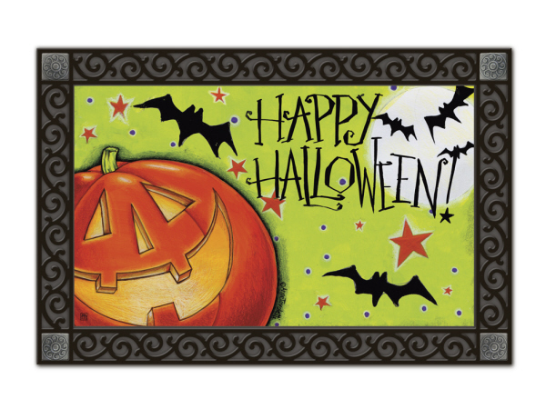Indoor & Outdoor MatMates Doormat - Great Big Pumpkin