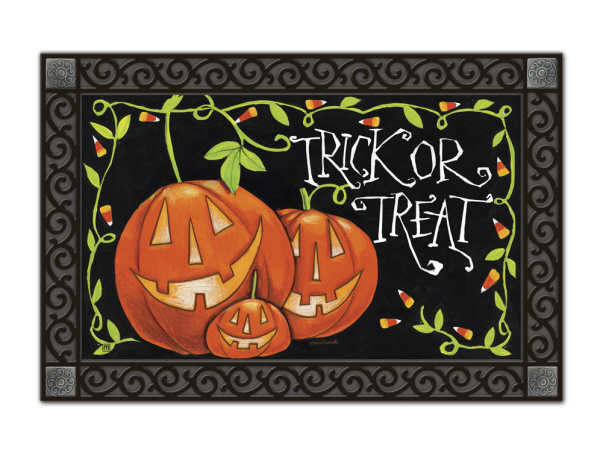 Indoor & Outdoor MatMates Doormat - Halloween Treat