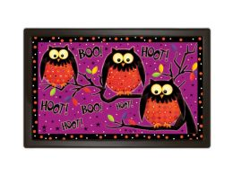 Indoor & Outdoor MatMates Doormat - Hoot Owls