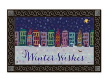 Indoor & Outdoor MatMates Doormat - Main Street Magic