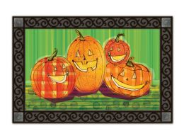 Indoor & Outdoor MatMates Doormat - Punkin Time