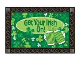 Indoor & Outdoor MatMates Doormat - Get Your Irish On