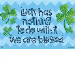 Indoor & Outdoor Irish Blessings MatMate Doormat – 18 x 30