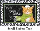 Indoor & Outdoor Its Cold Outside MatMates Doormat-18x30