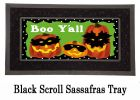 Sassafras Jack-o-Lantern Gathering Switch Doormat - 10 x 22