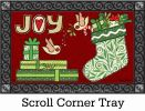 Indoor & Outdoor Joy Stocking MatMates Doormat - 18x30