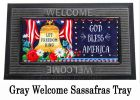 Let Freedom Ring Liberty Bell Sassafras Mat - 10 x 22 Insert Doormat