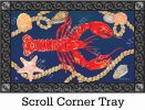 Indoor & Outdoor Lobster MatMate Doormat-18x30 Name