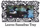 Sassafras Loon Pair Switch Doormat - 10 x 22 Insert
