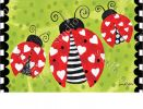 Indoor & Outdoor Love Bug MatMate Doormat-18 x 30