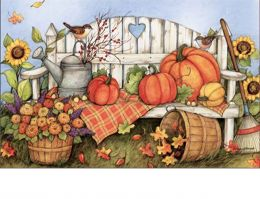 Indoor & Outdoor Loving Fall MatMate Doormat-18x30