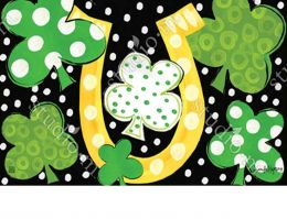 Indoor & Outdoor Luck of the Irish MatMate Doormat-18 x 30