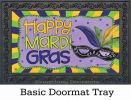 Indoor & Outdoor Mardi Gras MatMate Doormat - 18 x 30