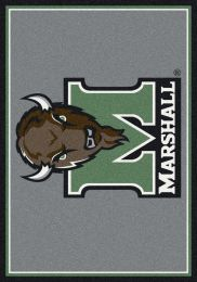 Marshall University Thundering Herd Nylon Spirit Area Rug