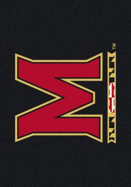 University of Maryland Terps Nylon Spirit Area Rug