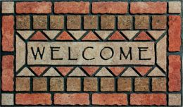 Masterpiece Outdoor Doormat - Welcome Stones