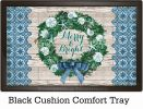 Indoor & Outdoor Merry & Bright Insert Doormat - 18x30