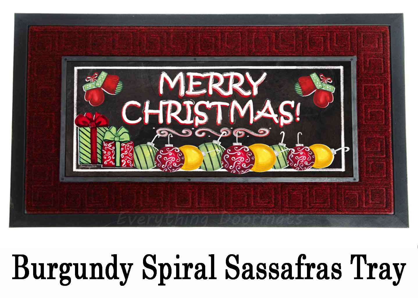 Sassafras Merry Christmas Switch Doormat 10 X 22